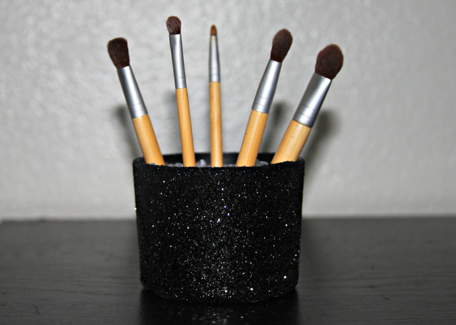 Sparkling Glitter Makeup Brush Holder with by ExclusivelyUrs
