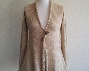 jeacara - nature - sweater - cotton - linen jacket m