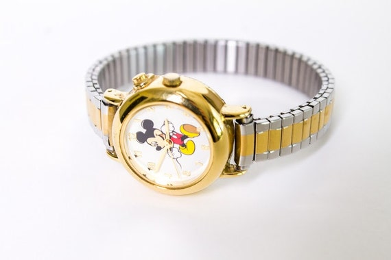 Vintage Mickey Watch on Etsy
