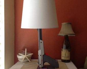 Nintendo Zapper Gun Lamp with trigger as the on/ off switch
