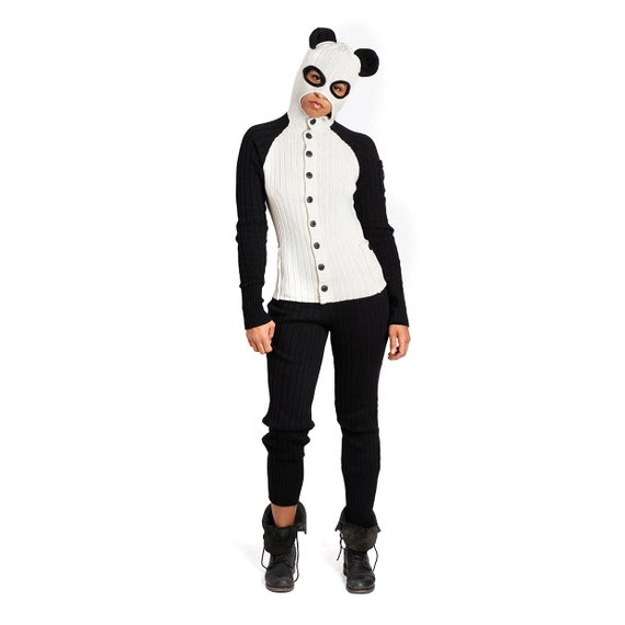 Panda Costume For Adults Panda Bear Adult Jumpsuit For