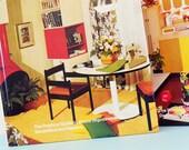 Vintage DIY Book Set / Vintage Illustrated DIY Encyclopedias / Vintage Decorating and Repair Books