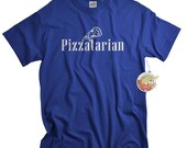 Pizza Tshirt Pizzatarian Pizza Shirt for Men funny birthday gift for son or college student pizza gifts for him