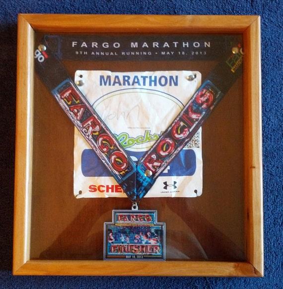Race Medal And Bib Display Race Medal/race Bib Display