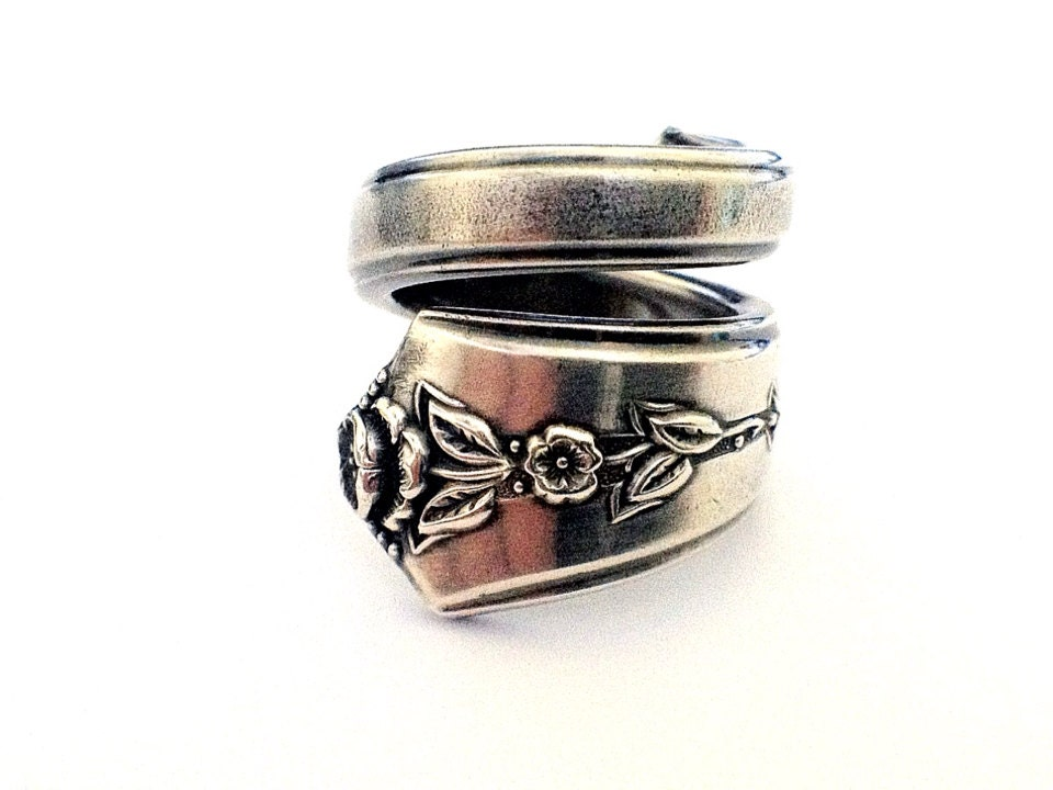 spoon ring circa 1949 spoon jewelry silverware by