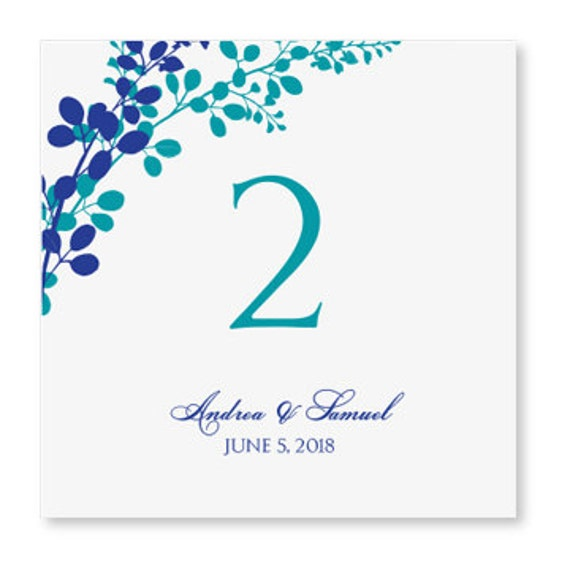 wedding table number card template instant by karmakweddings