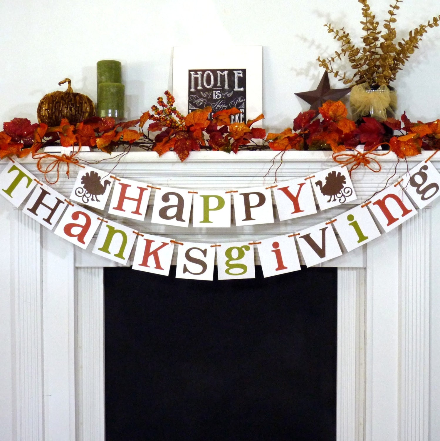 Thanksgiving decorations banner happy thanksgiving sign Happy thanksgiving decorations
