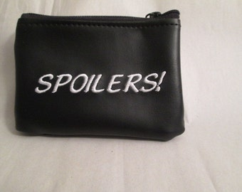 Spoilers! Coin Purse