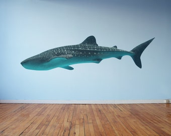 Large Whale Shark Wall Decal