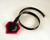 Black Heart Bookmark
