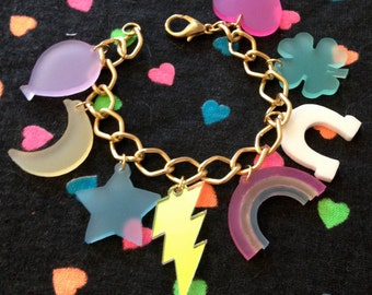 Lucky Charms Charm Bracelet