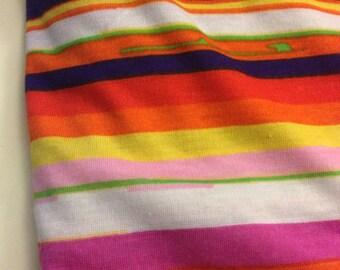 Stretch Jersey Knit Print Fabric 1 Yard