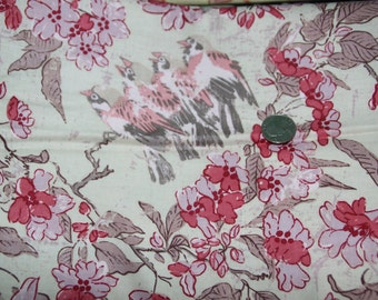 Free Spirit - Misaki by Melissa White - Sparrows and Blossom - PWMW010 - Baltic - One Full Yard