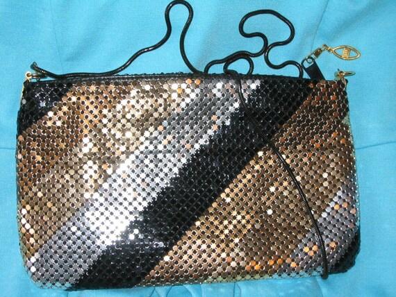 Sparkly Disco Chic Coiled Handbag