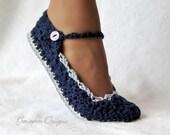 Instant Download - Crochet Pattern - Skinny Flats PDF 21