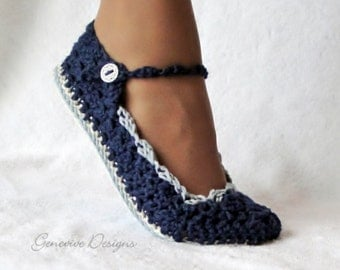 Instant Download - Crochet Pattern - Skinny Flats PDF 21