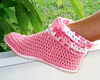 Instant Download - Crochet Pattern - Cuffed Boots for Adult and Kids PDF 12