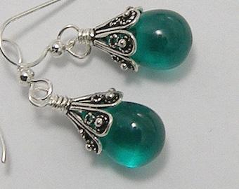 Crystal Teardrop Earrings Available in 10 Colors