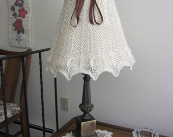 Lamp Shade Cover Knit Organic Cotton