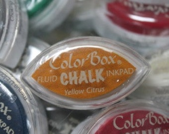ColorBox CHALK Cat's Eye blended Ink Pad - YELLOW CITRUS