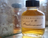 Meadowsweet Natural Botanical Cologne in a Vintage Apothecary Bottle
