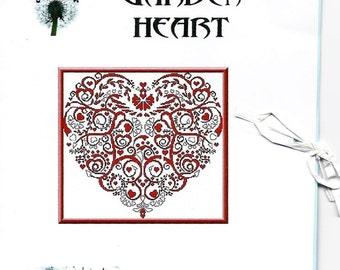 Garden Heart Cross Stitch Chart by Alessandra Adelaide