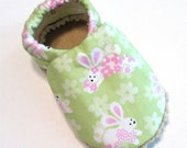 Bunnies Soft Soled Baby Shoes NB