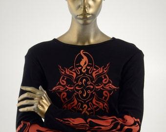 SALE! Sacred Flame Women's Long Sleeve T Shirt