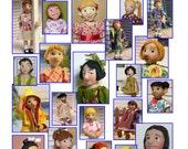 Making polymer Dolls - Make a Little MO Doll - full color Digital book