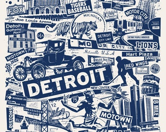 Popular Items For The Motor City On Etsy