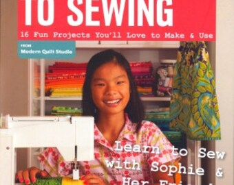 A Kid's Guide to Sewing BOOK - Sophie Kerr