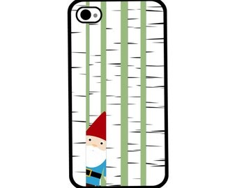 Phone Case - Gnome in the Forest - Hard Case for iPhone 4, 4s, 5, 5s, 5c, SE, 6, 6 Plus, 7, 7 Plus - iPod Touch 4, 5/6 - Galaxy
