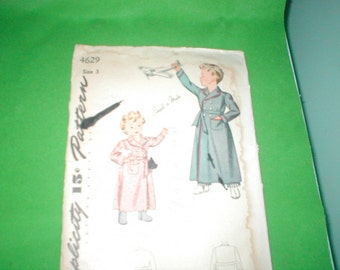 Vintage Simplicity Patterns Childs Robes