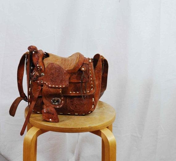 Vintage Tool Saddle White Bag NOS