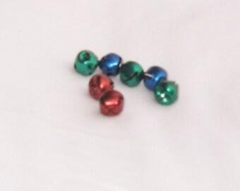 Jingle Bells, Holiday, Christmas, 3 colors, 17 pieces, F, destash
