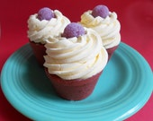 SALE--Jumbo Spiced Gumdrop Cupcake Bath Bomb - Gumdrop, Candy, Bath Fizzy, Cake, Spicy, Cupcake Fizzy, Teen Gift, Clearance, Discount, Sugar