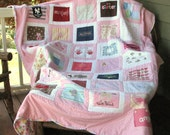 Memory quilt from baby clothes, Baby clothes quilt, Keepsake quilt