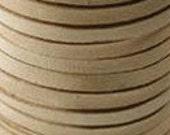 5 Feet 1/8 Inch (3mm wide) Deerskin Lace Leather Cord String BUCKSKIN 42887
