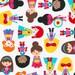 Ann Kelle, Super Kids, Girl Heroes on white, yard