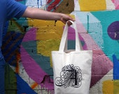 LOYALTY AND BLOOD - Letter A Tote Bag