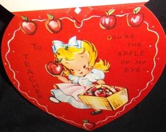 Vintage Teacher Valentine