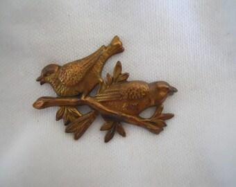 Sale Vintage Brass Bird Stamping