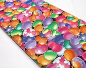 Critter Carnival Fabric Covered in Fun Balloons Carnival Fall Fair Quilting Fabrics For Children Kids