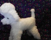 Poodle Puppy Dog Stuffed Animal Pattern Instant Download to SEW