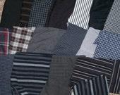 Fabrics Scraps - blacks