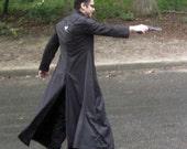 Men's Long Black Jacket