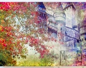 Greeting card - Autumn Castle - Serenading the Past Collection