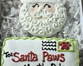 Santa & Letter to Santa Christmas Dog Treat Pack