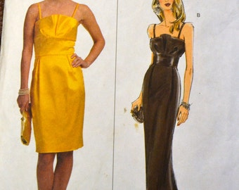 Sewing Pattern Butterick 5324  Misses' Evening Dress Bust 36 to 42  Complete