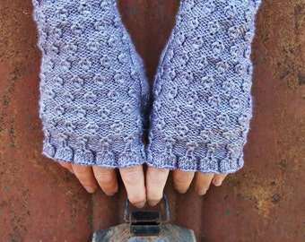 PDF Flip Side Reversible Fingerless Mitts knitting pattern digital download